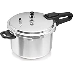 IMUSA 4-Quart Aluminum Pressure Cooker (with Safety Valve and Pressure Control)