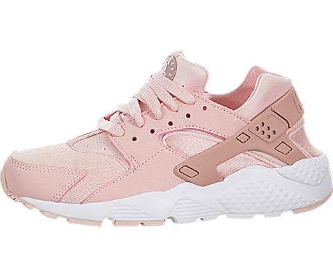Nike Kids Huarache Run SE (GS) Storm Pink/Rust Pink/Wht Running Shoe 4 Kids US