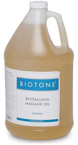 Oil Revitalizing Hair (BIOTONE Revitalizing Massage Oil Unscented - 1 Gallon)