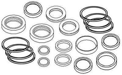 AW16444 New Seal Kit For John Deere Loader Bucket Cylinder 145 146 148 158 168 - John Deere Loader