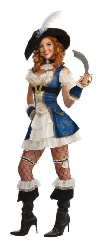 [Rubie's Costume Women's Bonnie Blue Adult Pirate, Multicolor, Standard] (Full Pirate Costumes)