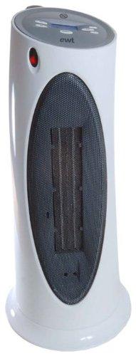 EWT Ceramic C220LCD Keramikheizer / 2000 Watt / Thermostat / beleuchtetes LC-Display / Grob-Luftfilter