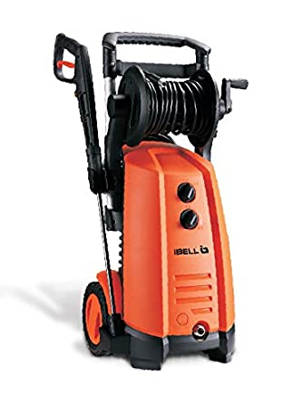 iBELL WIND300 Induction Motor 3000 Watt Home & Car High Pressure Washer (Black & Orange)