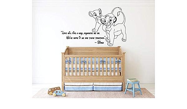 *FULL SET* The Lion King Kids Bedroom Vinyl Wall Art Stickers