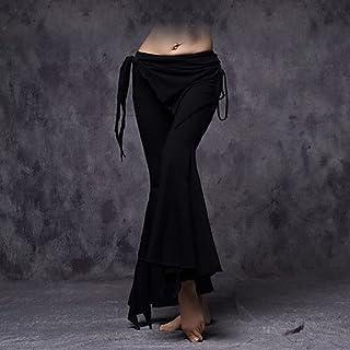 JXILY HJL Bas(Noire/Rouge / Blanc,Coton,Danse du Ventre) Danse du Ventre- pourFemme Plissé/Frange (s) Entraînement Danse du Ventre Taille Basse