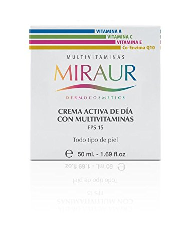 Miraur Dead Sea, CREMA ACTIVA DE DIA MULTIVITAMINAS - 50 ml ...