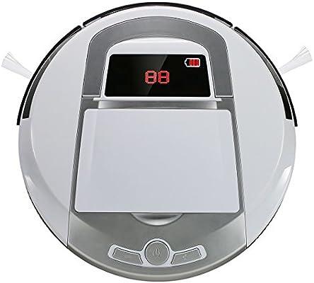 EVERTOP Aspiradora Inteligente, Robot aspiradora para Pisos, Robot ...