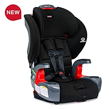 Image of Britax Grow with You Harness-2-Booster Car Seat - 2 Layer Impact Protection - 25 to 120 Pounds, Dusk [Newer Version of Pioneer] Baby