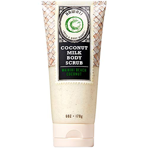 - Bath and Body Works HAWAII - WAIKIKI BEACH COCONUT Coconut Milk Body Scrub 6 Ounce