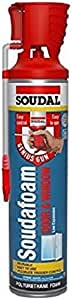 Soudal 461800 Foam Poly MNML-EXP with Gun 20 oz