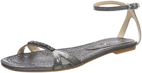 Women's Strap Unisa se Steel Sandals Chanty Steel Silver Ankle d7AAxI