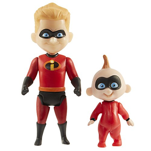The Incredibles 2 Dash & Jack-Jack Action Figures