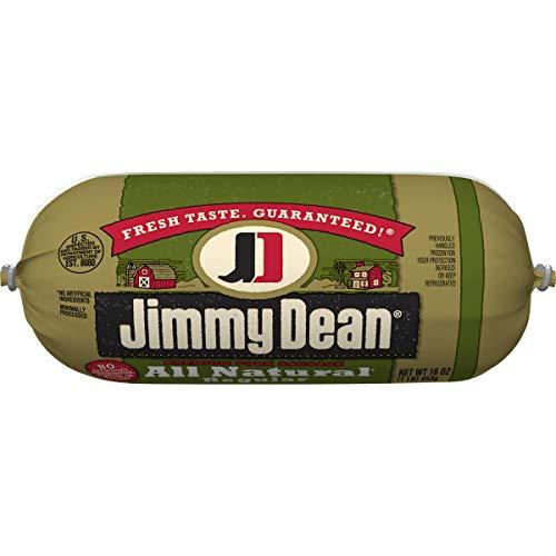 - Jimmy Dean, Premium All Natural Pork Sausage, 16 oz