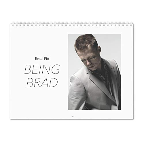 Click for larger image of Brad Pitt - Being Brad 2019 Wall Calendar