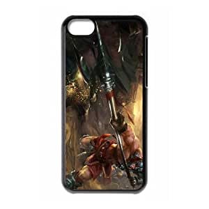 iphone5c phone case Black XinZhao league of legends AAA6298179