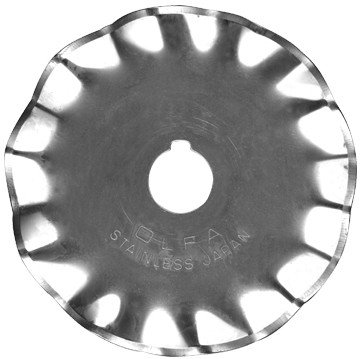 Rotary Blade Refill-45mm Wave 1/Pkg