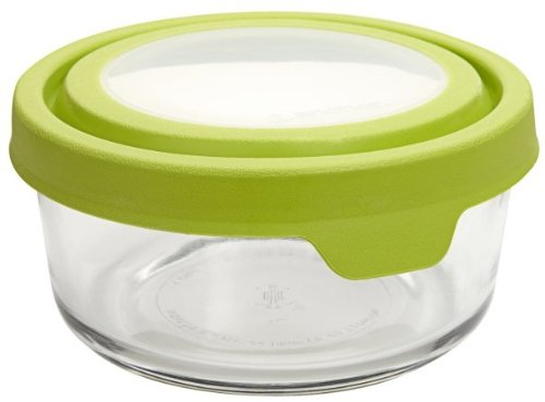 Anchor Hocking 91688 4 Cup Round TrueSeal Glass Storage Container
