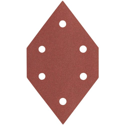 PORTER-CABLE 767601005 100 Grit Diamond-Shaped Hook & Loop Profile Sanding Sheets (5-Pack)