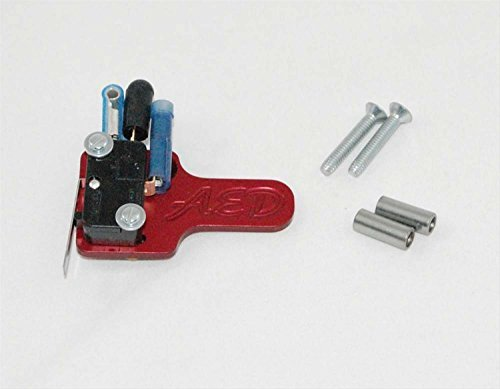 - AED 6086 Billet Nitrous Wide Open Throttle Activation Switch and Bracket