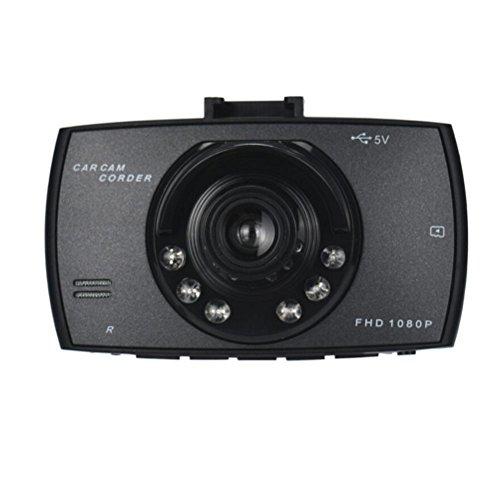 Vehicle Camera DVR, Ikevan 1x Car 1080P 2.2'' Full HD DVR Vehicle Camera Dash Cam Video Recorder G-sensor Night Vision (B 2.4 Inch) by Ikevan (Image #3)
