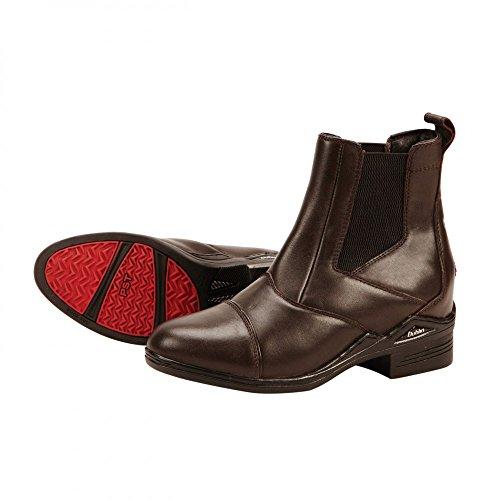 Pull Ladies Jodhpur Boots On Brown Intensity Dark Size Dublin 4 5Wq46aIPIn