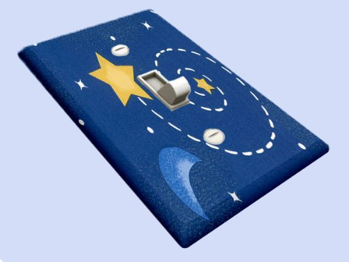 Swirl Switchplate - Celestial Star Swirl Switchplate - Switch Plate Cover