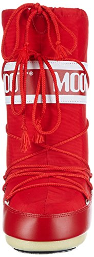 Unisex Red Child Rosso Boots Boot Nylon Moon PEwqFzB