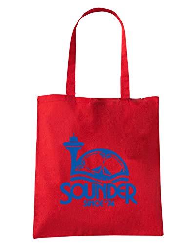 Speed Shirt Borsa Shopper Rossa WC0553 SEATTLE SOUNDER SINCE 74