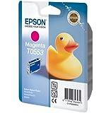 Epson T0553 Cartouche d'encre d'origine Magenta pour R240 245 RX420 425 520