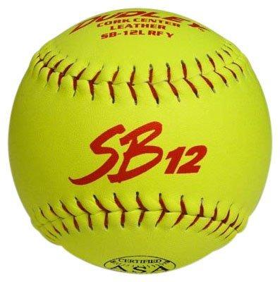 Dudley ASA SB 12L 12'' Slow Pitch Softball - Dozen by Dudley