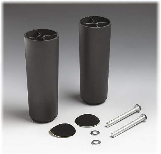 Tempur 73001980 - Patas para marco Flex independiente, color negro
