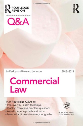 Q&A Commercial Law 2013-2014 (Questions and Answers)