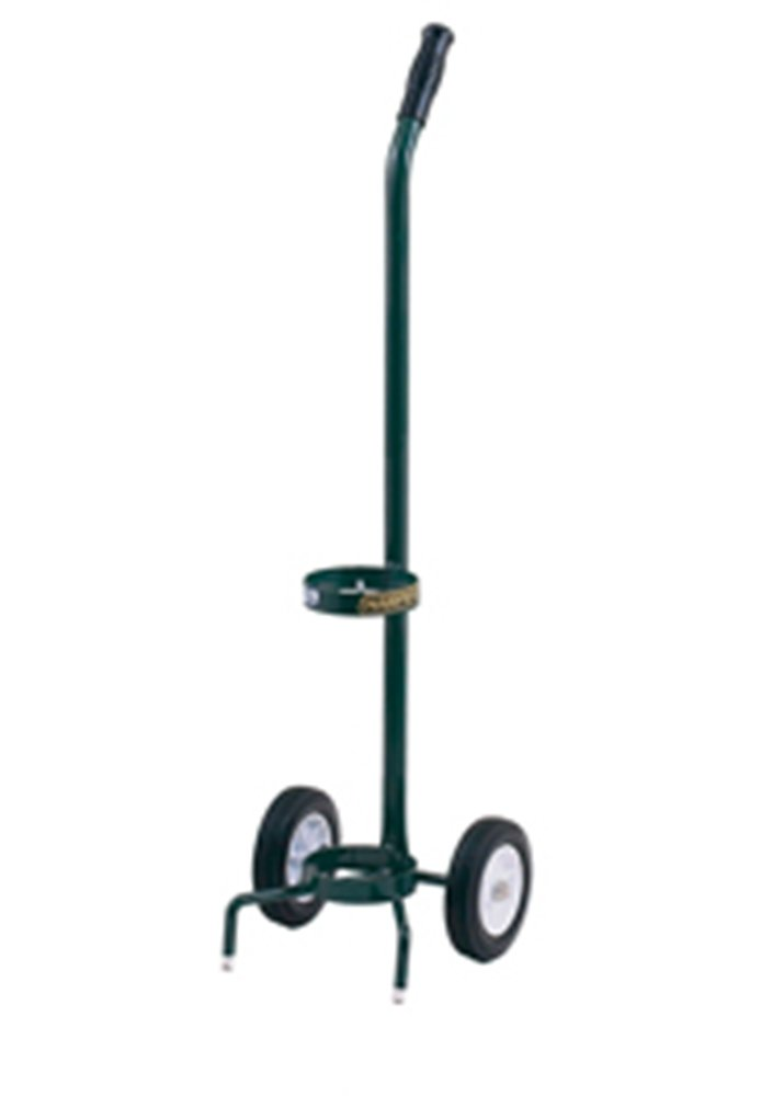 Harper Trucks MG-DE21 39-Inch High by 11-Inch Wide Small Oxygen Tank Hand Truck with 6-Inch Semi-Pneumatic Wheels