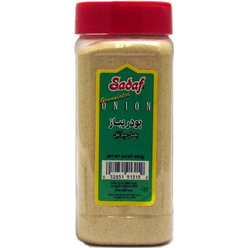 Sadaf Onion Granulated, 15.8-Ounce (Pack of 4)