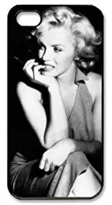 LZHCASE Personalized Protective Case for iPhone 5 - Marilyn Monroe