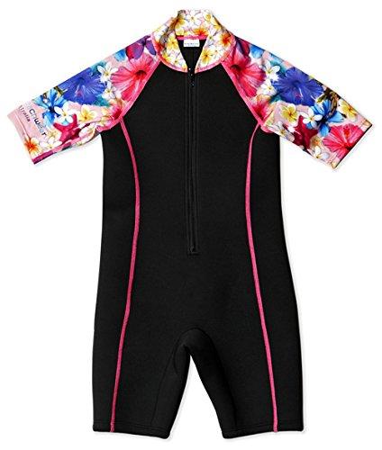 Bluesalt Beachwear Floral Girls Neoprene Wetsuit Size 10 BS/WS/03 F