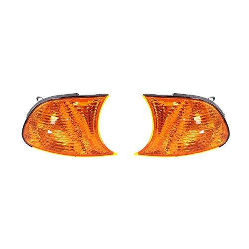 NEW AMBER TURN SIGNAL LIGHTS PAIR FITS BMW 325CI 2002-2003 BM2521115 63136919650 63136919649 BM2520115 ()