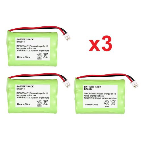 3 Fenzer Rechargeable Baby Monitor Batteries for Graco iMonitor 2795DIG1 2791DIG1 TMK NIMM