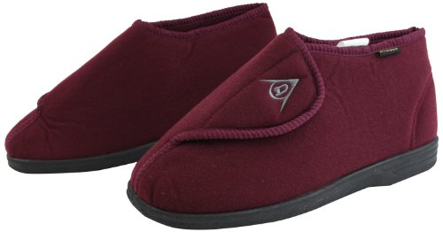 Ability Superstore Dunlop Albert Chaussons Bordeaux Taille 10