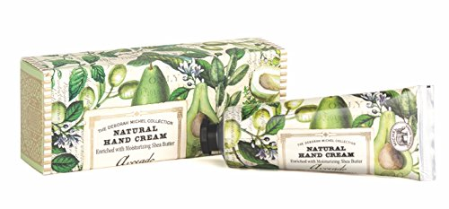 (Michel Design Works Natural Hand Cream with Shea Butter, 2.1-Ounce, Avocado)