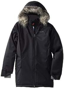 Columbia Girl's Nordic Flake Jacket, Black, XX-Small