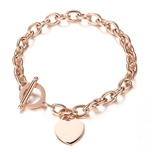 Wang Gao Rose Gold Love Stainless Steel