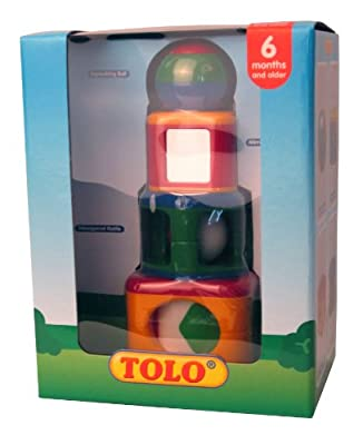Tolo Toys Stacking Activity Shapes by Reeves (Breyer) Int'l