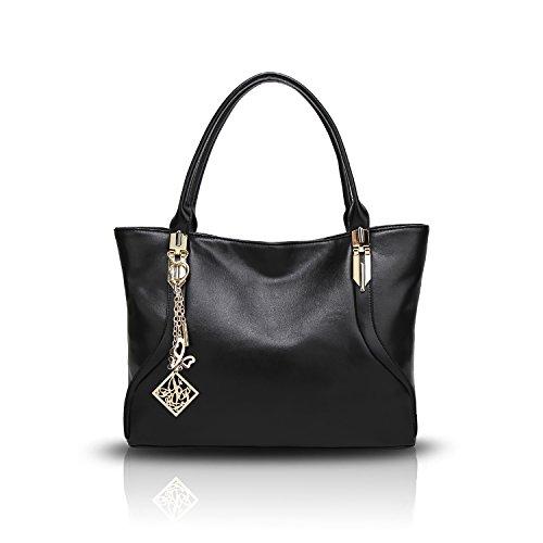 delle della del molle spalla donne del della di di modo Nero borsa del tendenza signora Sdinaz donne spalla raccoglitore sacchetto sacchetto spalla di di nuovo sacchetto Il di tawAqIB