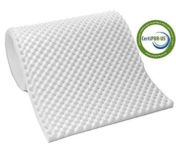 Vaunn Medical Egg Crate Convoluted Foam Mattress Pad - 2 5
