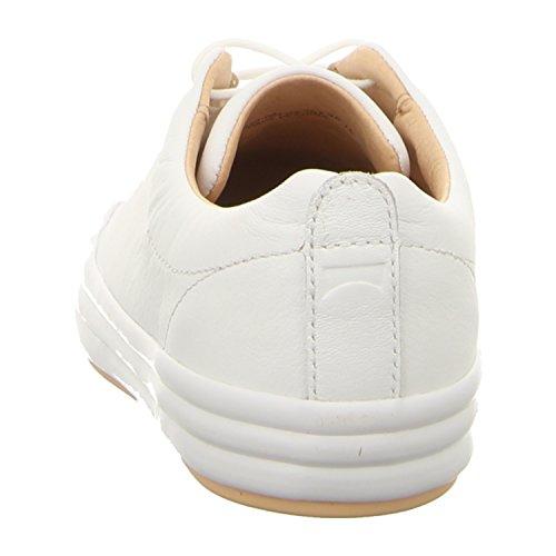 Camper Ladies Hoops Sneaker, Bianco, 39 Eu Bianco (ottica Softhand / Cerchi Blanco-derma)