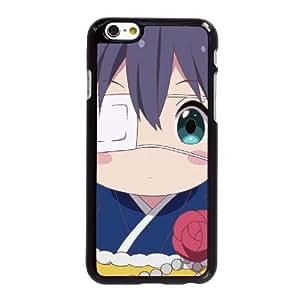 Funda iPhone 6 6S más la caja del teléfono celular de 5.5 pulgadas Funda Negro chunibyo amor y otros delirios Z6H2XW