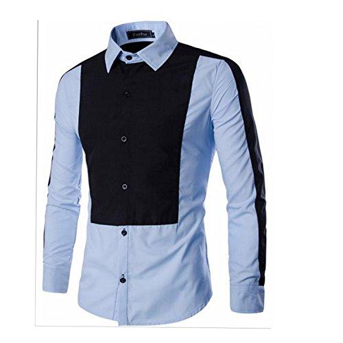 Buy Ghoghari 2017 Royal Style Men Casual Shirts Luxury Print Fashion Design Long Sleeve Shirt Slim Fit Man Pattern 3d Shirt At Amazon In