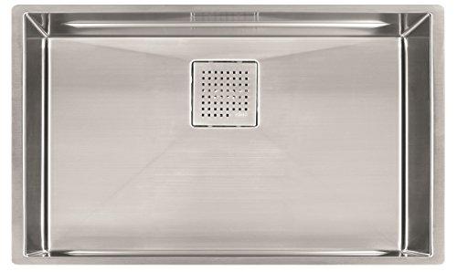 16 Gauge Undermount Single Bowl Stainless Steel Kitchen Sink, 28 3/4-inch, ()