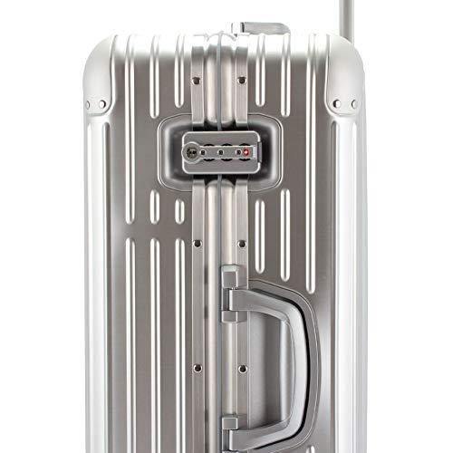 b1a0e90f6a Amazon.co.jp: [ リモワ ] RIMOWA 【Newモデル】 オリジナル 92563004 チェックイン M 67L 4輪 スーツケース  シルバー Original Check-In M Silver キャリーケース 旧 ...